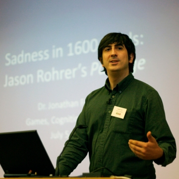 Presentation by Jonathan Frome (Dallas)